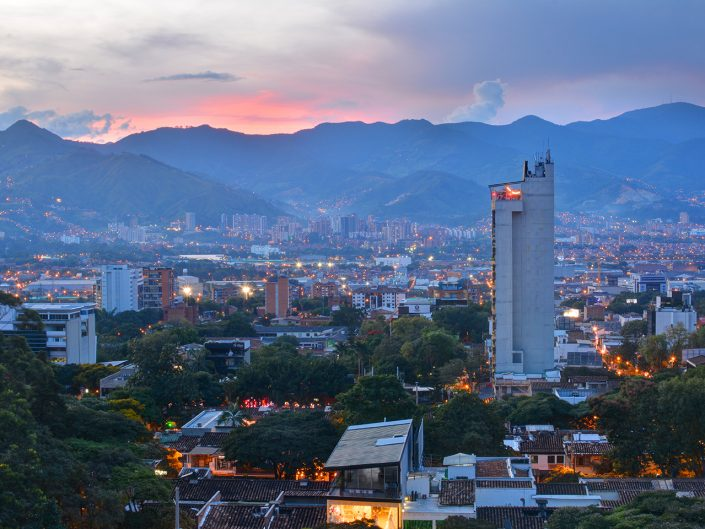 Hotel Charlee in Medellin Sunset