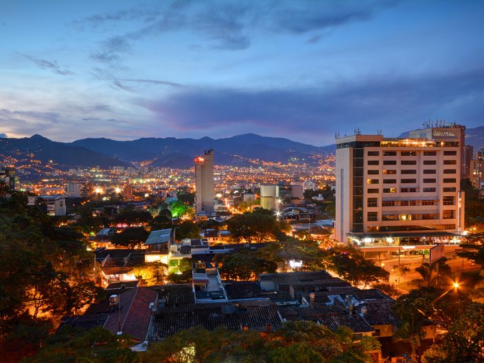 Best Hotels in Medellin Night