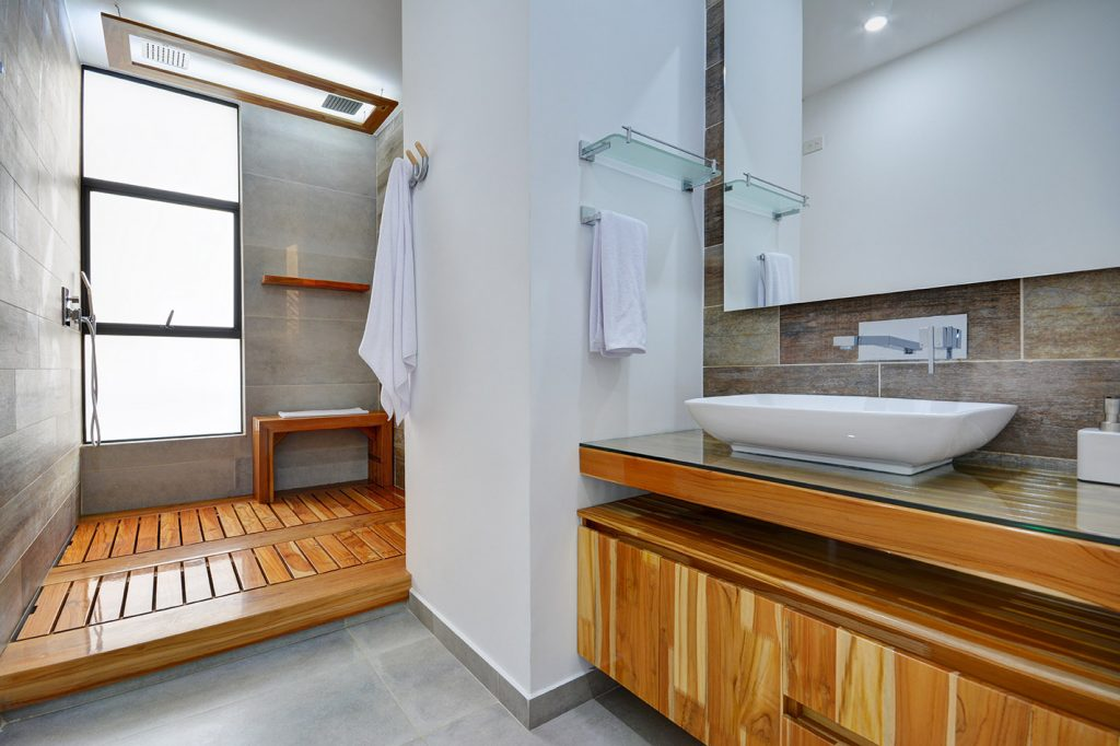 Luxurious Bathroom in Apartment in Medellin