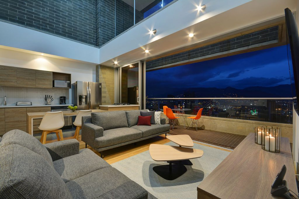 Obra Quince Penthouse Living Room