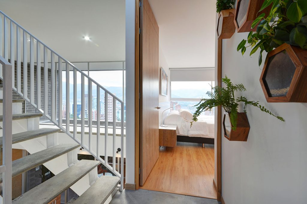 Obra Quince Medellin Bedrooms in Penthouse