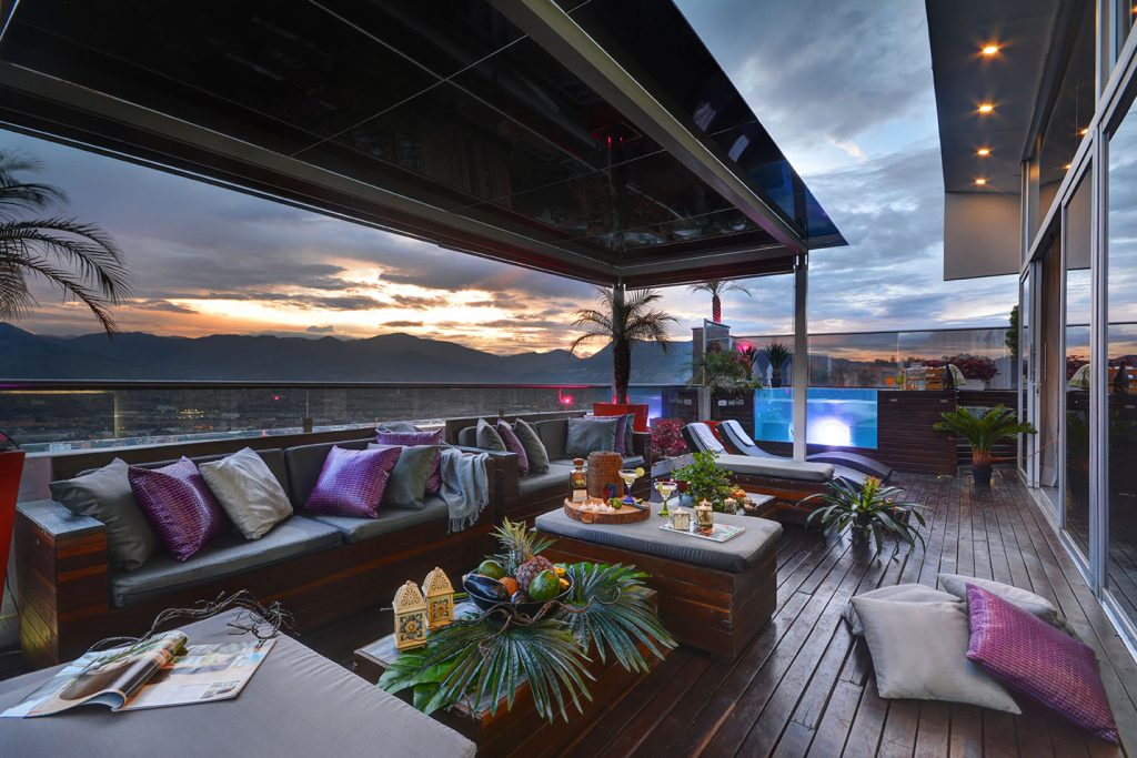 Rooftop Penthouse With A View In Medellin