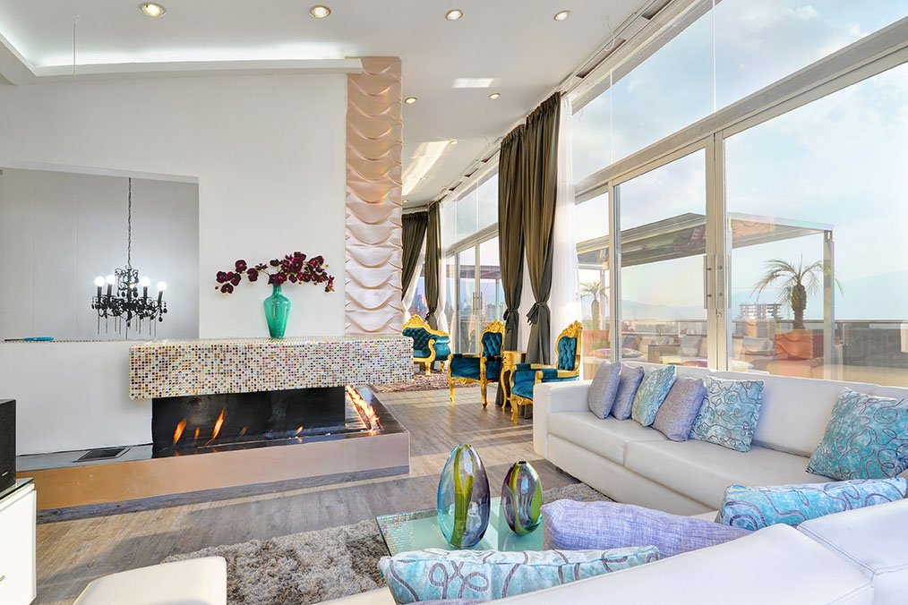 The 12 best luxury penthouse apartments in medellin for Penthouse apartment price