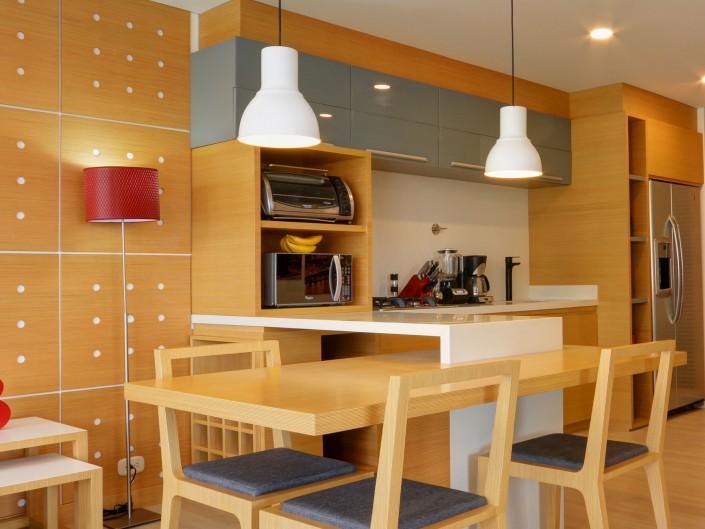 Wood Dining Room Medellin