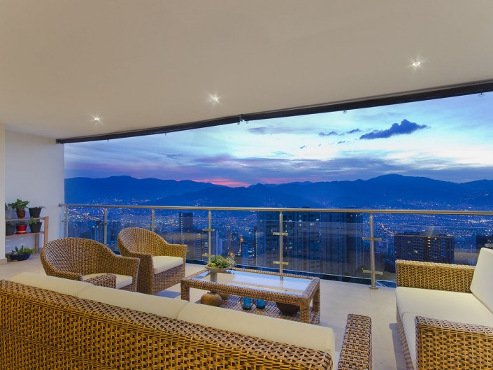 Sunset Balcony Medellin