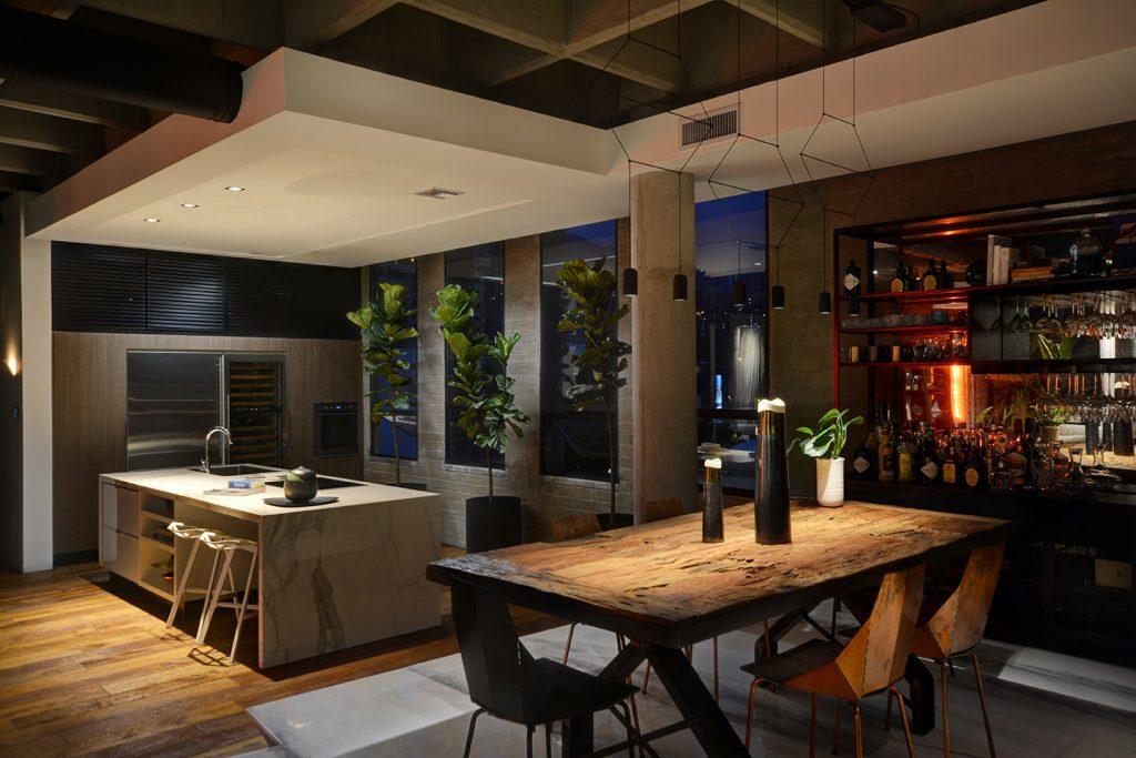 Dining Room in Soho Loft in Medellin