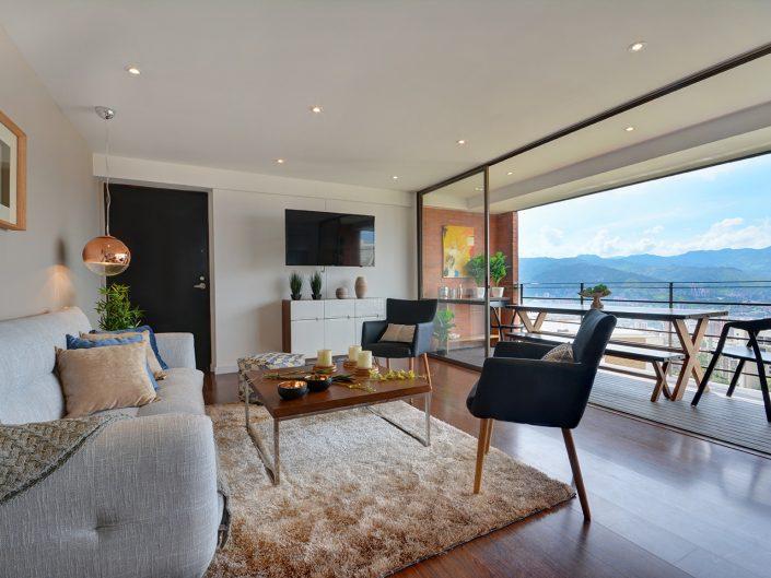 Medellin Penthouse Balcony View
