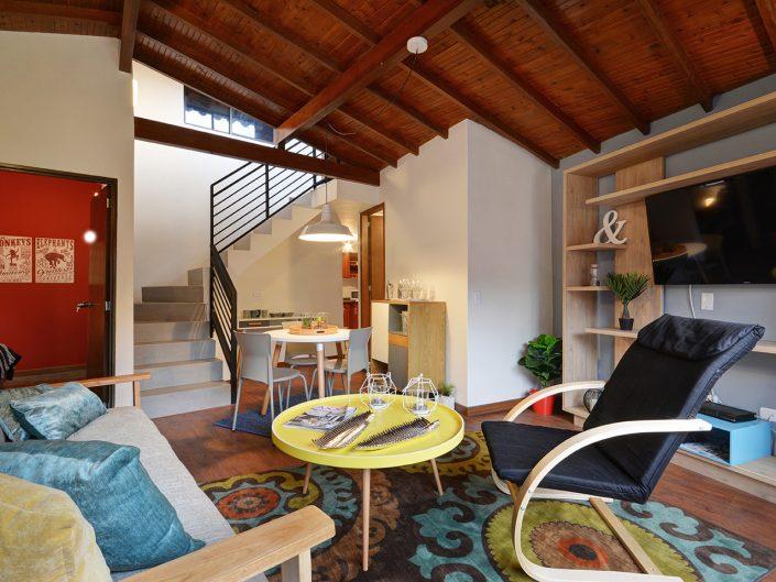 penthouse living room in sabaneta medellin