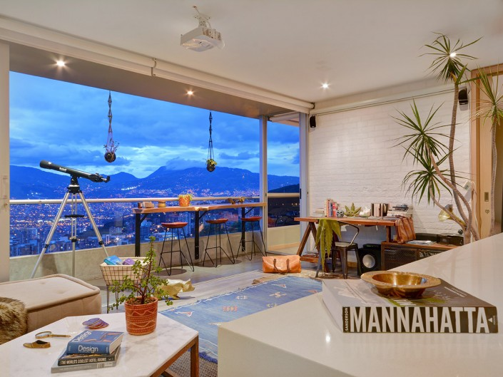 Furnished penthouse medellin by 5 Solidos