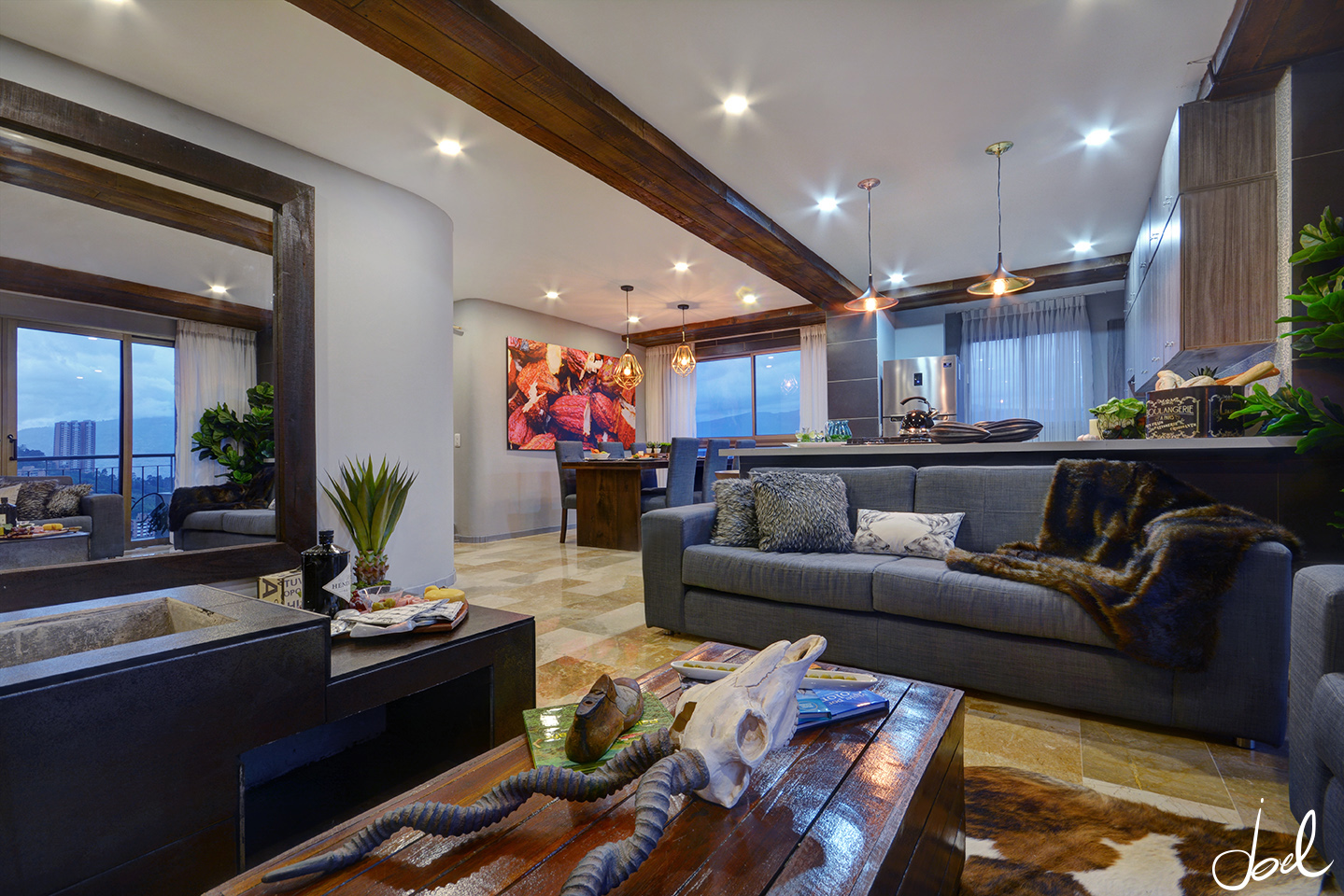 living room real estate my experience as a real estate photographer in medellin 15884