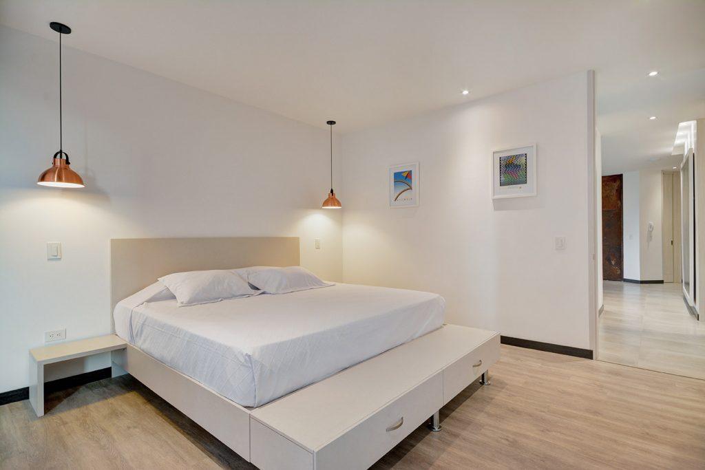 Master Bedroom in Luxury Apartment Medellin