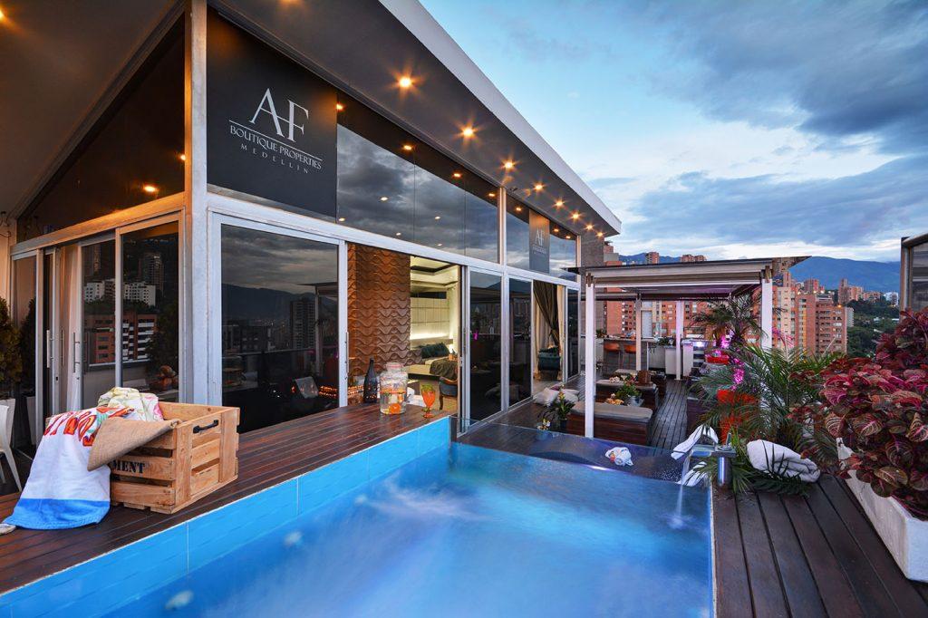 AF Luxury Medellin Penthouse Exterior