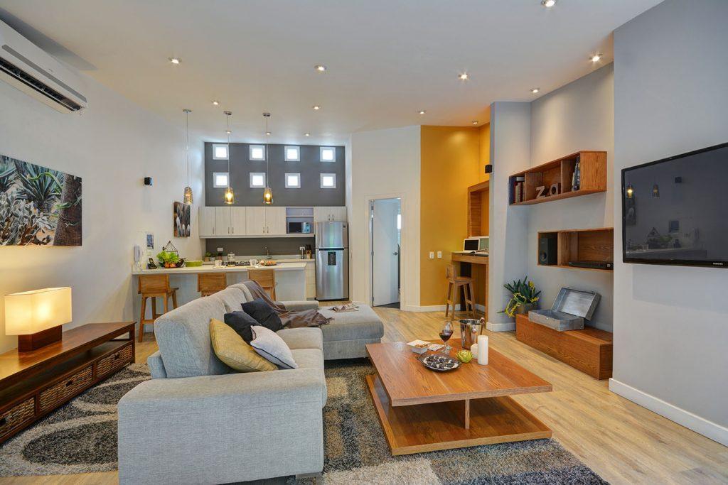 Living Room Poblado Suites