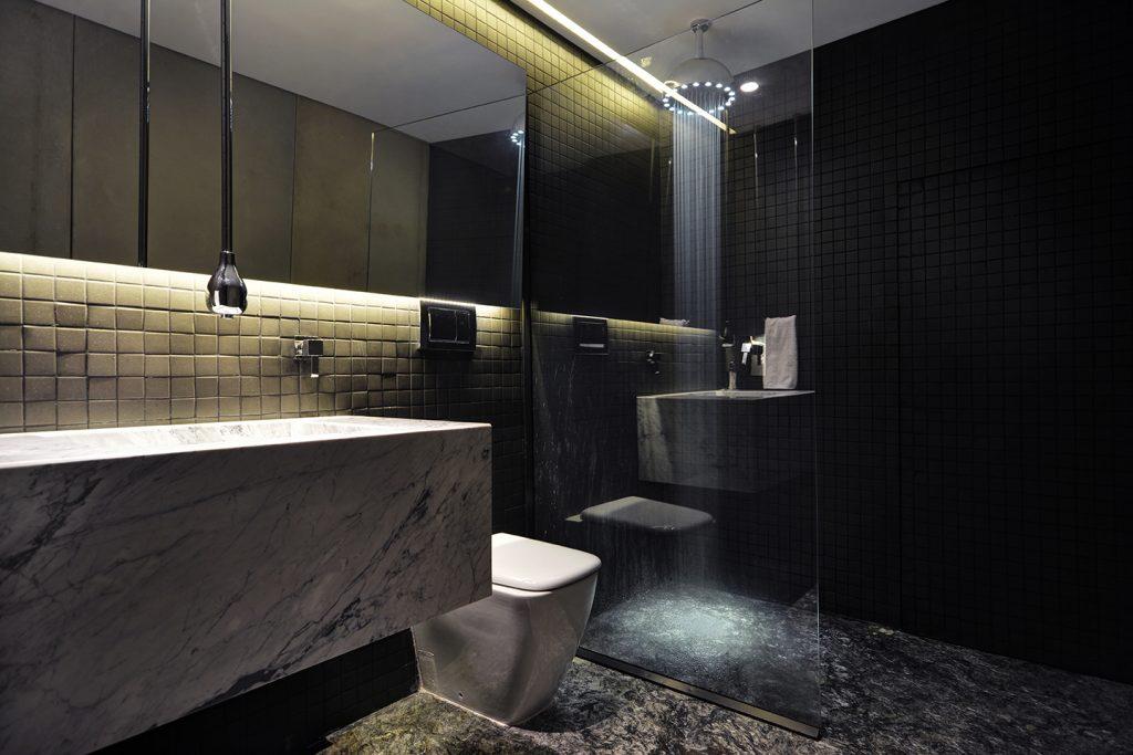 Luxury Marble Bathroom in Medellin