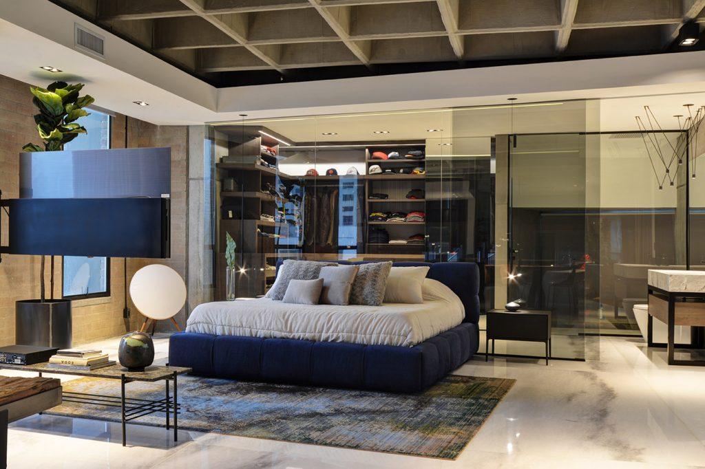 Master Bedroom in a Medellin Luxury Penthouse